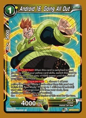 Android 16, Going All Out - BT13-112 - C