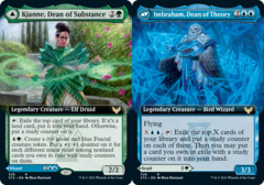 Kianne, Dean of Substance // Imbraham, Dean of Theory - Extended Art