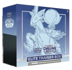 Sword & Shield: Chilling Reign Elite Trainer Box (Ice Rider Calyrex)