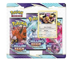 Sword & Shield: Chilling Reign 3-Pack Blister (Eevee)