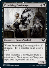 Promising Duskmage