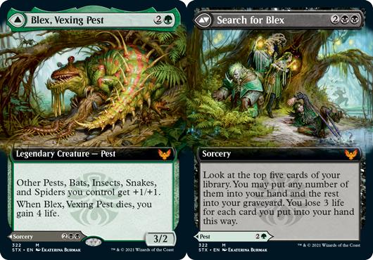 Blex, Vexing Pest // Search for Blex - Extended Art