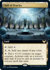 Hall of Oracles - Extended Art