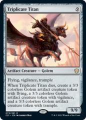 Triplicate Titan