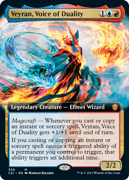 Veyran, Voice of Duality - Extended Art
