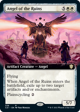 Angel of the Ruins - Extended Art