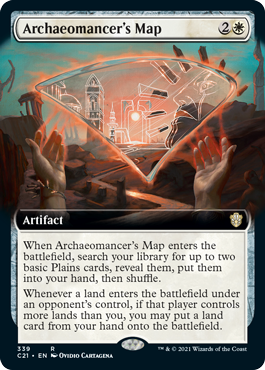 Archaeomancers Map - Extended Art