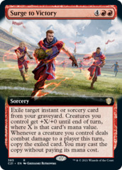 Surge to Victory - Extended Art