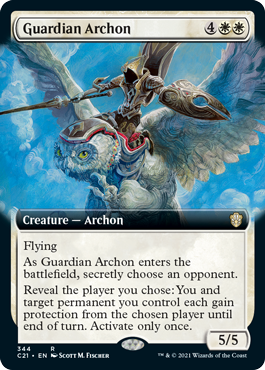 Guardian Archon - Extended Art
