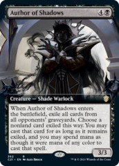 Author of Shadows - Extended Art
