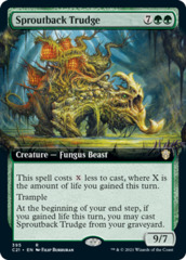 Sproutback Trudge - Extended Art