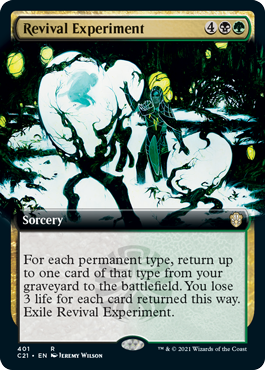 Revival Experiment - Extended Art