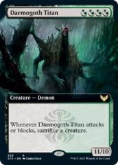 Daemogoth Titan - Extended Art