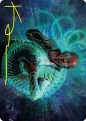 Biomathematician Art Card - Gold-Stamped Signature