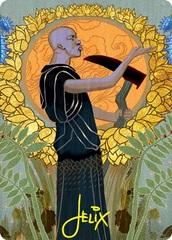 Cultivate Art Card - Gold-Stamped Signature