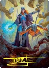 Kasmina, Enigma Sage Art Card - Gold-Stamped Signature