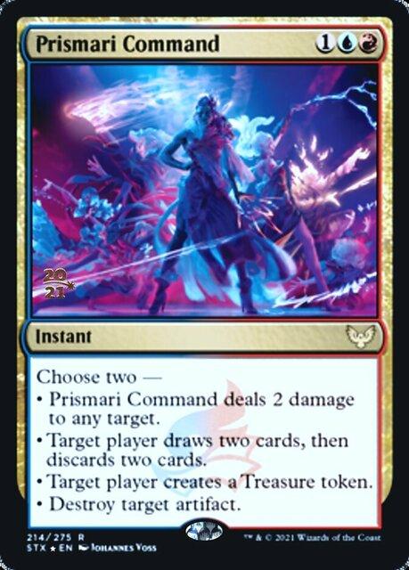 Prismari Command - Foil - Prerelease Promo