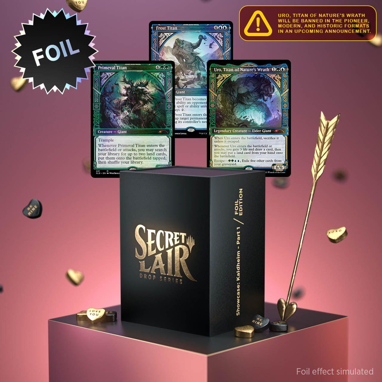 Secret Lair - Showcase: Kaldheim - Part 1 Foil Edition