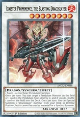 Ignister Prominence, the Blasting Dracoslayer - ANGU-EN048 - Rare - 1st Edition