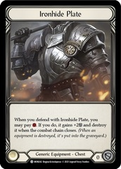 Ironhide Plate - 1st Edition