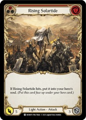 Rising Solartide (Red) - 1st Edition