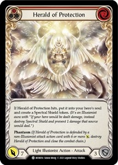 Herald of Protection (Red) - 1st Edition