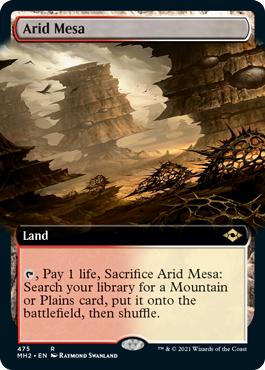 Arid Mesa - Extended Art