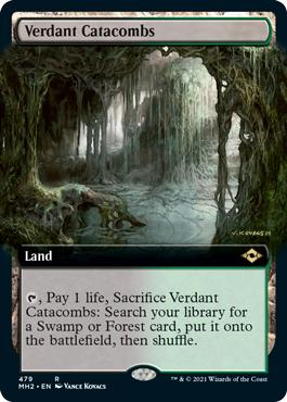 Verdant Catacombs - Extended Art