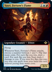 Yusri, Fortune's Flame - Extended Art