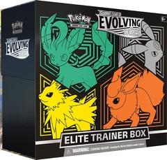 Sword & Shield - Evolving Skies Elite Trainer Box - Leafeon, Embreon, Jolteon, Flareon
