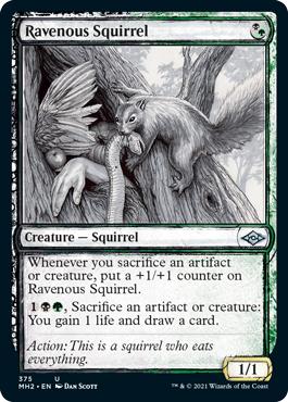 Ravenous Squirrel - Showcase