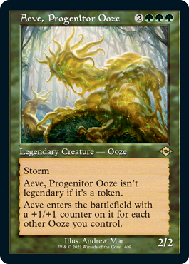 Aeve, Progenitor Ooze - Foil Etched - Retro Frame