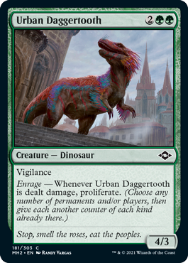 Urban Daggertooth - Foil
