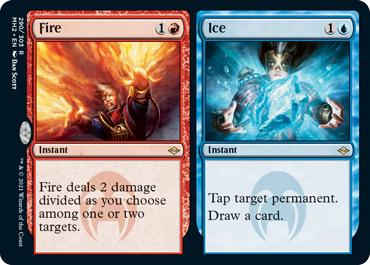Fire // Ice - Foil