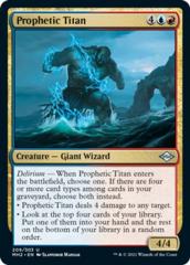 Prophetic Titan - Foil
