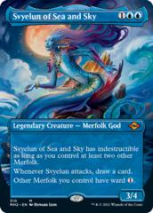Svyelun of Sea and Sky - Borderless