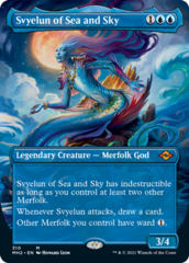 Svyelun of Sea and Sky - Foil - Borderless