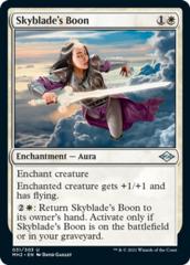 Skyblade's Boon - Foil