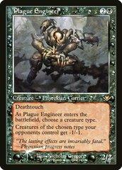 Plague Engineer - Foil Etched - Retro Frame