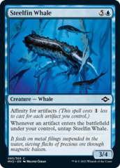 Steelfin Whale - Foil