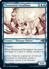 Phantasmal Dreadmaw - Foil - Showcase