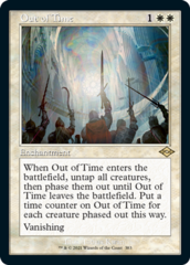 Out of Time - Foil - Retro Frame