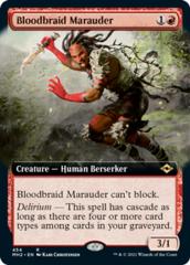 Bloodbraid Marauder - Foil - Extended Art