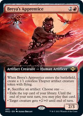 Breyas Apprentice (Extended Art)