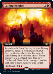 Calibrated Blast - Extended Art