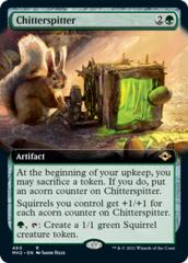 Chitterspitter - Foil - Extended Art