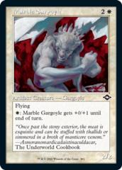 Marble Gargoyle - Foil Etched - Retro Frame