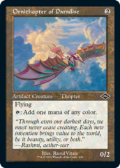 Ornithopter of Paradise - Foil Etched - Retro Frame
