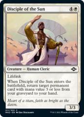 Disciple of the Sun - Foil