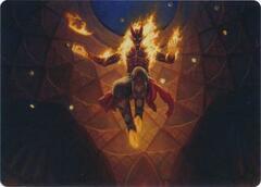 Yusri, Fortune's Flame Art Card